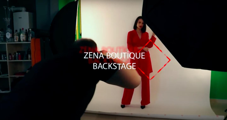 Zena Boutique Fotoğraf Çekimi (Back Stage)