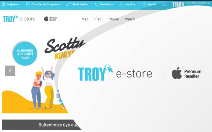Troy E-Store