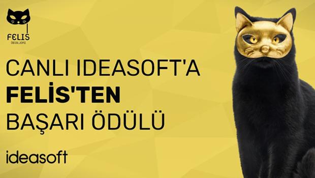 Felis'in Veri Güdümlü Yaratıcı Doğrudan Pazarlama Ödülü IdeaSoft'un