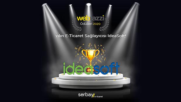 Webrazzi 2020 Yılın E-Ticaret Servis Sağlayıcısı Ödülü IdeaSoft'un